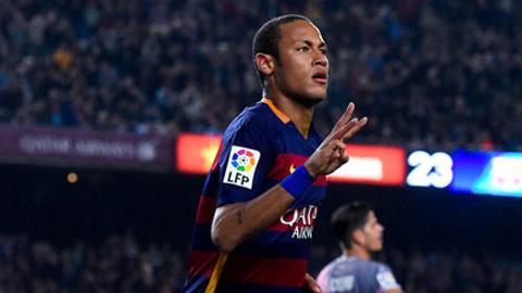 Cú poker vào lưới Vallecano chưa phải kỷ lục của Neymar
