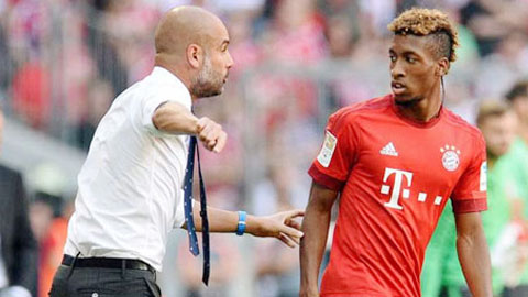 Bayern đón Coman trở lại trước đại chiến với Arsenal