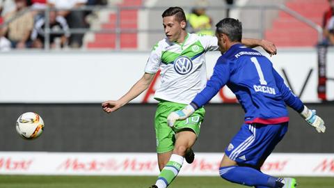 Draxler dần khẳng định vai trò cột trụ tại Wolfsburg