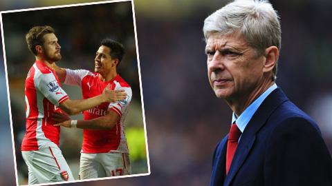 Arsenal mất Ramsey và có thể cả Sanchez ở trận gặp Everton
