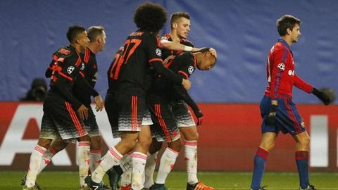 Toàn cảnh Champions League: Real & M.U bị chia điểm, Man City thắng phút 90
