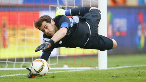 Thêm một kỷ lục cho Casillas