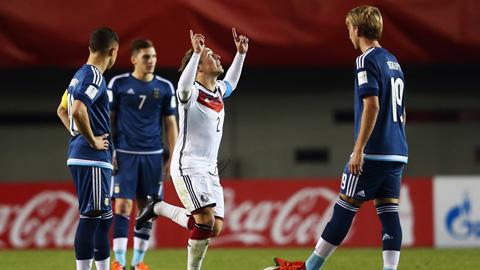 U17 World Cup: Đức đè bẹp Argentina 4-0