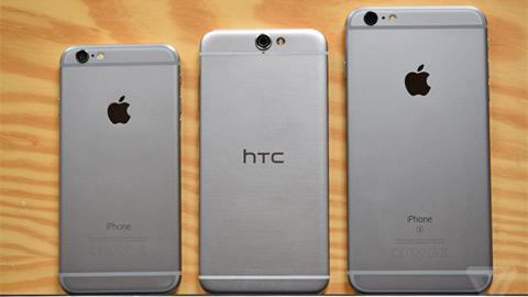 iPhone 6s mới là kẻ ăn cắp thiết kế của HTC One A9