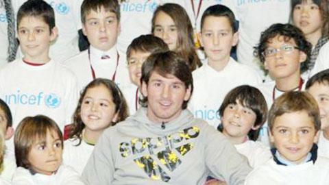 Năm 2014, tên của Messi được đặt cho 422 đứa trẻ