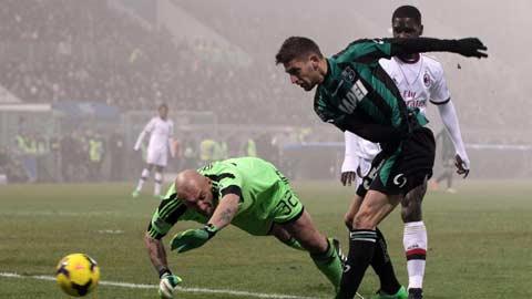 Berardi có tiếp tục… ám Milan?
