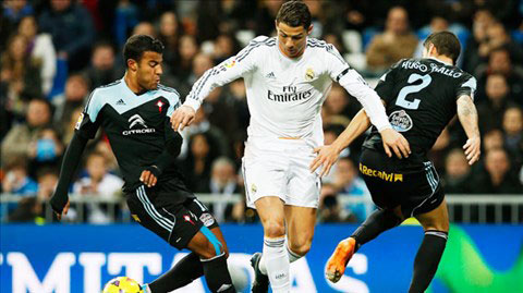 Đội hình dự kiến Celta Vigo vs Real vòng 9 La Liga