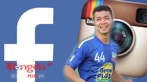 """Cầu thủ Việt Nam dần """"đổi hộ khẩu"""" từ facebook sang Instagram"""