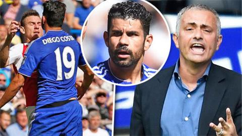 Diego Costa không thay đổi tính nết vì Mourinho