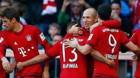 Bayern đè bẹp Cologne 4-0, mừng trận thắng thứ 1.000 tại Bundesliga