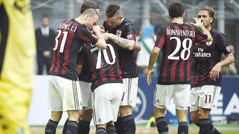 AC Milan 2-1 Sassuolo: Giải cứu Mihajlovic