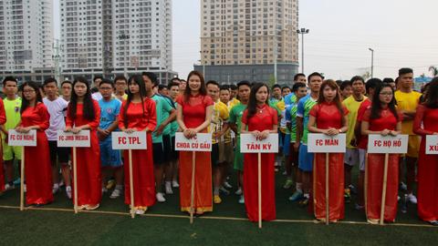 Khai mạc Giải bóng đá xứ Nghệ khu vực miền Bắc - Lần IV 2015