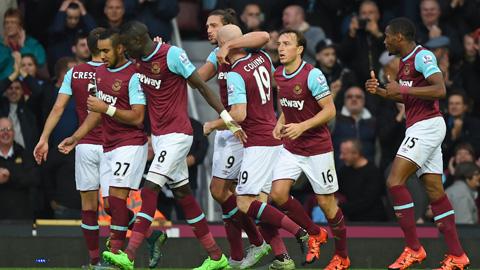 West Ham: Chuyên gia hạ ông lớn ở giải Ngoại hạng 2015/16