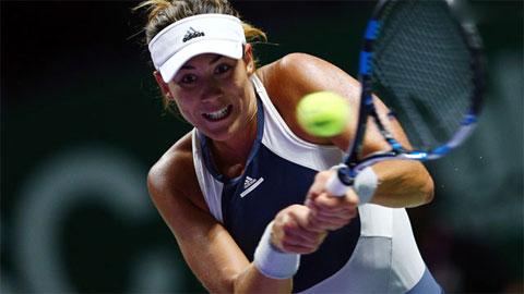 Muguruza và Kerber khởi đầu suôn sẻ tại WTA Finals