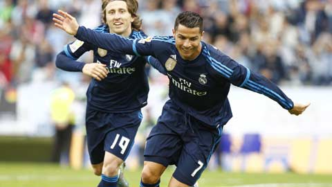 Ronaldo làm gì khi không ghi bàn?