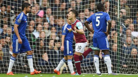Chelsea không còn lối thoát