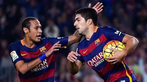 Luis Suarez là vô giá và không thể thay thế