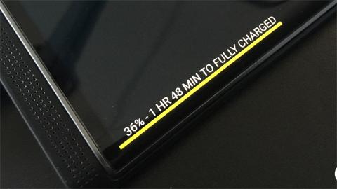 Màn hình cong của BlackBerry Priv hiện gì?