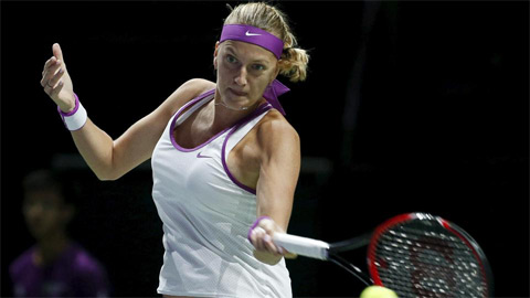Kvitova sống lại hy vọng vào bán kết WTA Finals