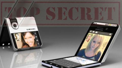Smartphone màn hình dẻo gập được: Phiên bản lạ của Galaxy S6 edge+