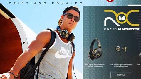Ronaldo hợp tác kinh doanh tai nghe