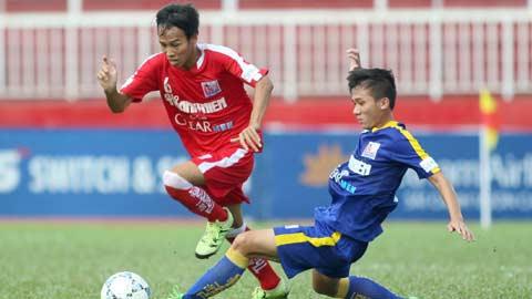 Giải U21 báo Thanh Niên – Cúp Clear Men 2015: HN.T&T và Bình Định vào bán kết