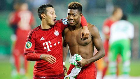 Đã đến lúc trả Alaba về biên trái ở Bayern
