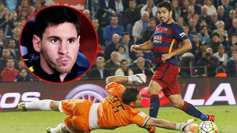 """Suarez thừa nhận Barca """"khó ở"""" vì thiếu Messi"""