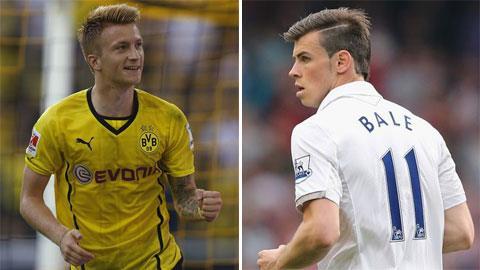 Reus và Bale