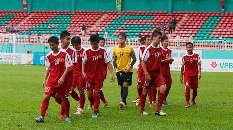 U19 Việt Nam. Ảnh: Minh Trần