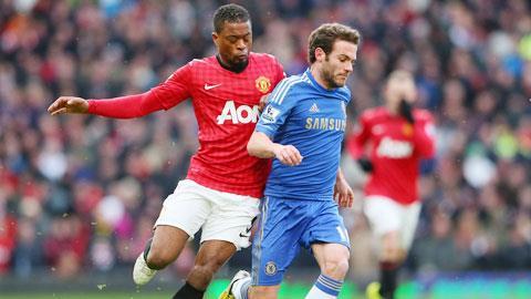 M.U vs Chelsea: Cơ hội chót của Mata?