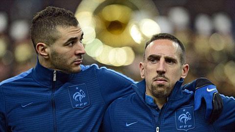 Benzema và Ribery đều dính vào vụ án mua dâm gái tuổi teen