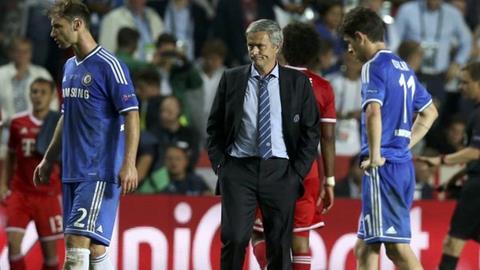 Mourinho cho rằng Chelsea thua vì không gặp may