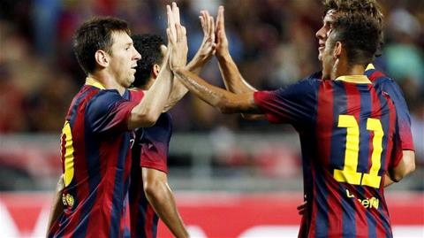 Quá khó để các đối thủ có thể ngáng đường Barca trong cuộc đua vô địch
