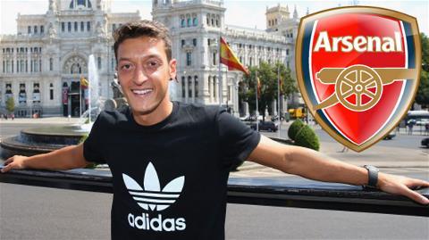 Bản hợp đồng Oezil đã ngốn của Arsenal tới 42.5 triệu bảng