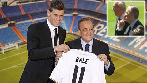Tân binh Gareth Bale mang áo số 11 ở Real