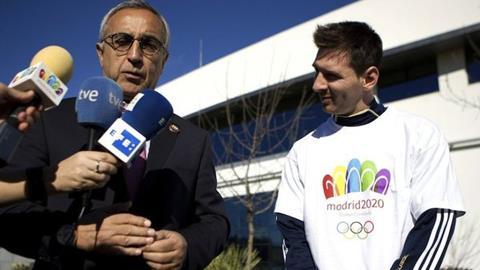 Messi ủng hộ Madrid đăng cai Thế vận hội 2020