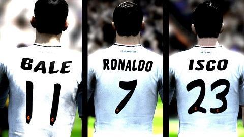 Quá nhiều ngôi sao đắt giá trên hàng công khiến Ancelotti phải đau đầu lựa chọn.