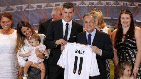 Gareth Bale sẽ mang số áo 11 tại Real Madrid