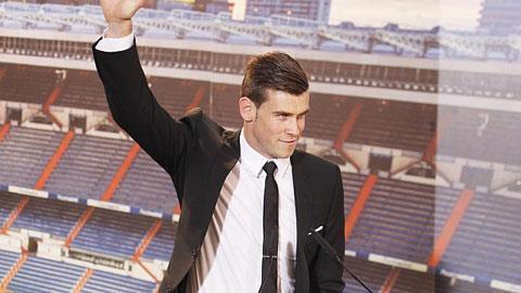 Bale trong ngày ra mắt Real Madrid