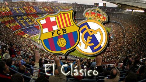 Trận El Clasico sẽ không diễn ra vào buổi trưa