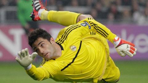 Cựu thủ thành Adán của Real Madrid