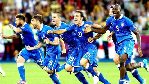 ĐT Italia giành ngôi á quân EURO 2012