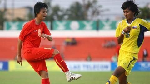 ĐT nữ Việt Nam hòa 0-0 với Thái Lan