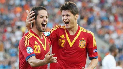 Real không muốn để Isco (trái) đá trận giao hữu với Chile