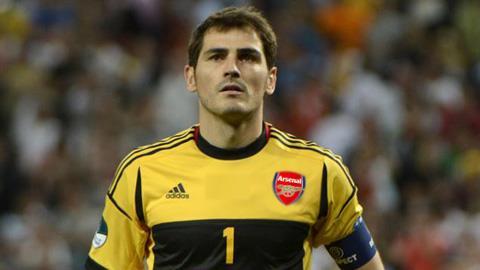 Iker Casillas sẽ dự bị trận gặp Chile