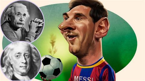 Romario cho rằng Messi là Einstein của thế giới bóng đá