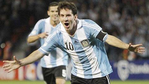 Messi không thể hiện được nhiều trong màu áo ĐT Argentina