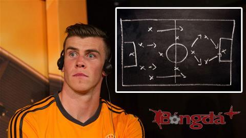 Gareth Bale sắp bước ra sân khấu lớn và HLV Ancelotti đã chuẩn bị ít nhất 4 phương án để anh trình diễn