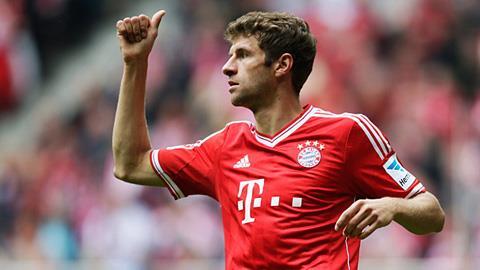 Thomas Mueller (Bayern) là một trong những ngôi sao hàng đầu tại Bundesliga hiện nay